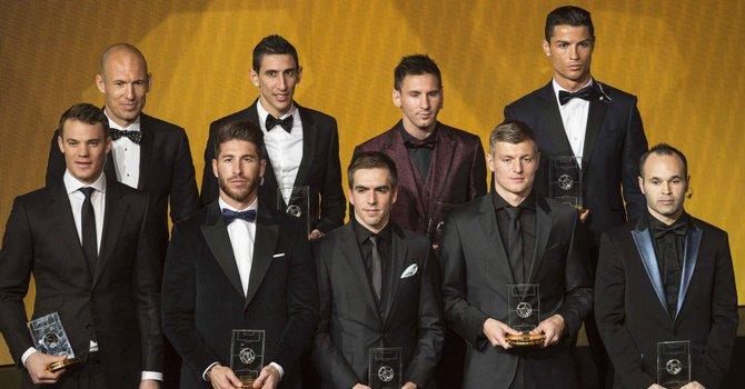 Latinos dominan Once Ideal de la FIFA
