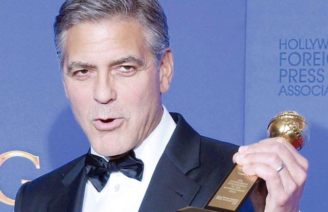George Clooney le dedica su Globo al amor
