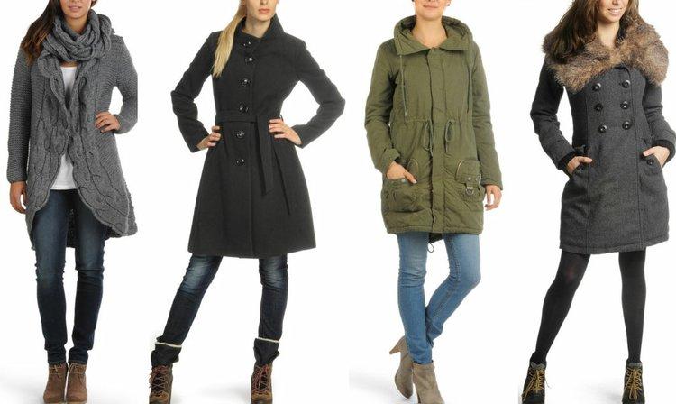 Moda en abrigos para invierno