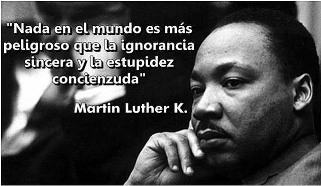 Tag Frases De Martin Luther King En Ingles Y Español