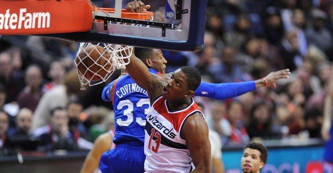 Wizards aplastan a Philadelphia 76ers 111-76