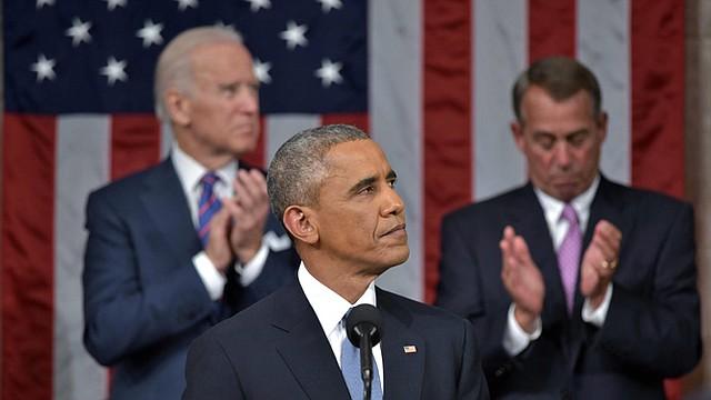 """El presidente Barack Obama presentó el martes 20 de enero su discurso sobre el Estado de la Unión ante el Congreso. Obama habló sobre su intención de trabajar con el Congreso por una """"economía para la clase media"""", aprovechando la recuperación económica."""