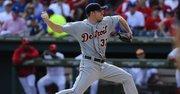 El lanzador Max Scherzer llega a los Washington Nationals como agente libre después de jugar para los Tigres de Detroit.