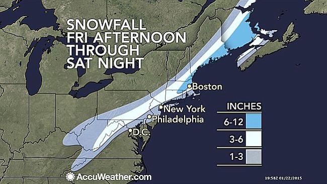 TORMENTA INVERNAL: ¿Qué tanta nieve va a caer?