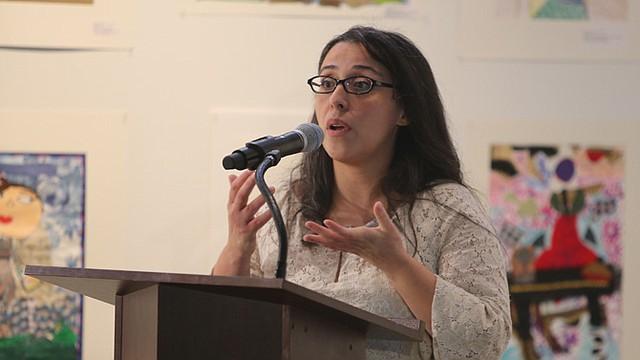 CONCIENCIA. La científica y ambientalista Nicole Hernández Hammer.