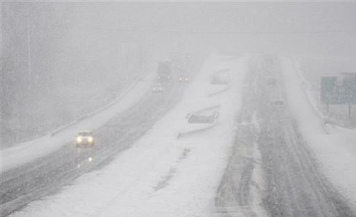 Podrían caer hasta 14 pulgadas de nieve en Boston este jueves