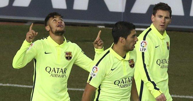 """La """"MSN"""" del Barça ansía acaparar el trío final del Balón de Oro"""