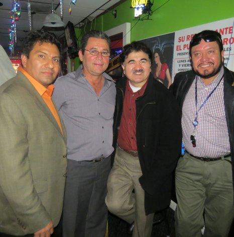 Candidato salvadoreño busca votos