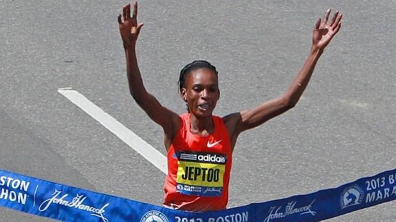 Rita Jeptoo, tres veces campeona del maratón de Boston, fue suspendida por escándalo de dopaje
