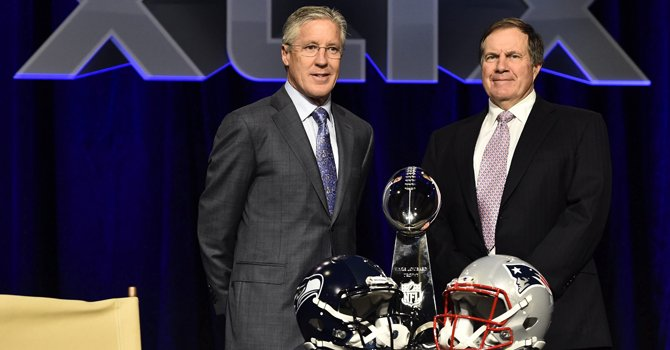 Super Bowl: control especial para 108 balones