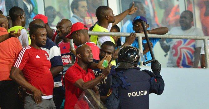 Multan a Guinea por violencia en la Copa África