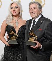 Lady Gaga y Tony Bennett triunfadores en Grammy 2015