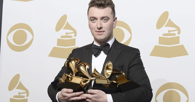 Sam Smith se llenó de Grammy