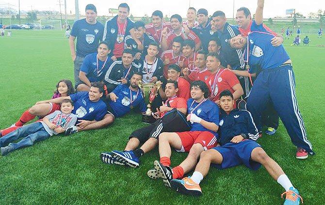 ARC campeón  de la Copa Texas TPSL 2015