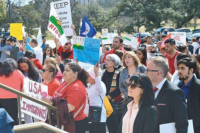 Inmigración será un tema fuerte en la Legislatura de Texas
