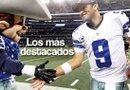 Tony Romo se desempeña como mariscal de campo para los Cowboys de Dallas. Ha estado en la lista de los mejores quarterbacks, al igual que en la de los peores.  A pesar de las críticas, sus abuelos por parte de su padre, quienes emigraron de Múzquiz Coahuila (México), siempre han demostrado su cariño y orgullo hacia su nieto.