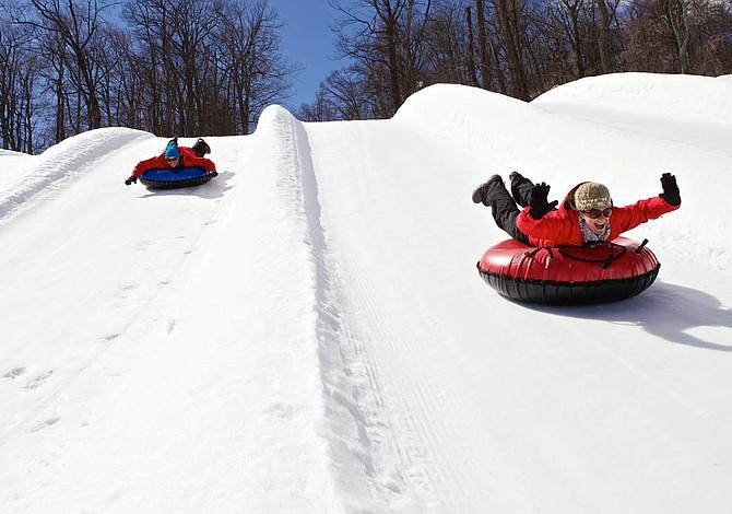 "Cinco lugares para practicar ""Snow Tubing"" cerca de Boston"