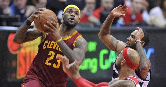 LeBron James buscará algo más que un título ante los Warriors