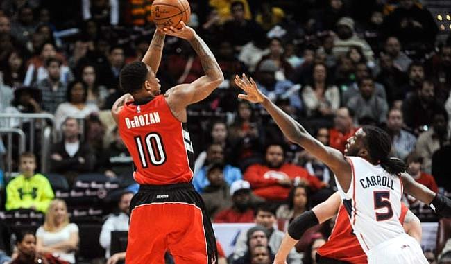 NBA: Raptors vencen a Hawks en duelo de líderes del Este