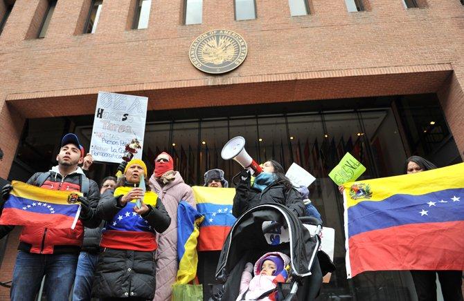 """Exigen a OEA que """"cumpla su tarea"""" sobre Venezuela"""