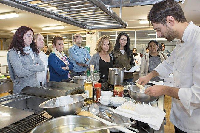 Clases De Cocina | Clases De Cocina Periodico El Mundo Noticias Para Hispanos