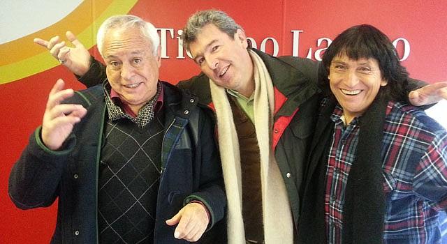 """Los comediantes David Santalla, David Travesí y el cantante Vicente Valenzuela presentan su show """"Hecho en Bolivia"""" el sábado 7 de marzo."""