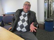 Elías Polío durante una reciente visita a la redacción de El Tiempo Latino en Washington, DC.