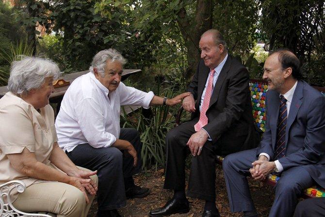 El Rey Juan Carlos de España llega a Washington