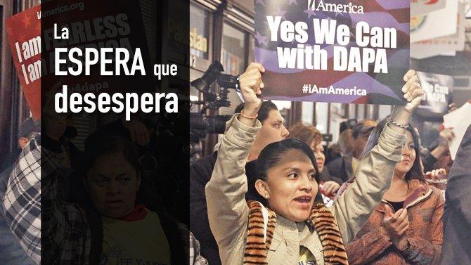 Los beneficiarios de DAPA y DACA siguen al vaivén de las acciones legales