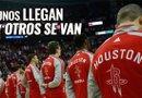 Los Rockets de Houston no dejaron pasar la oportunidad y aprovecharon para obtener, pero también para perder algunos jugadores.