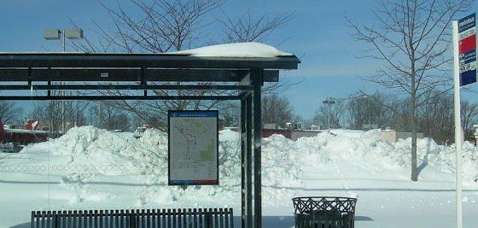 Suspenden servicio de buses en el área de DC
