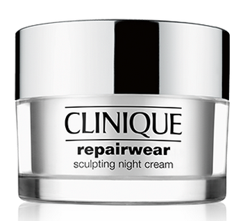 Repairwear Sculpting Night Cream de Clinique. SRP $65