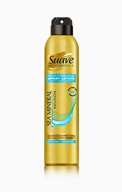 Sea Minerals Spray Lotion de Suave. SRP $6