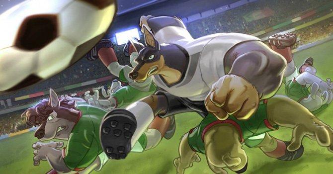 Imagen de la cinta animada Selección Canina.