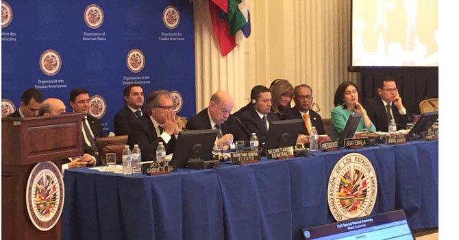 Luis Almagro, nuevo Secretario General de la Organización de los Estados Americanos (OEA).