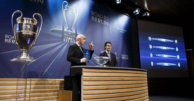 Champions: El destino depara un duelo fratricida que reedita la final Madrid-Atlético