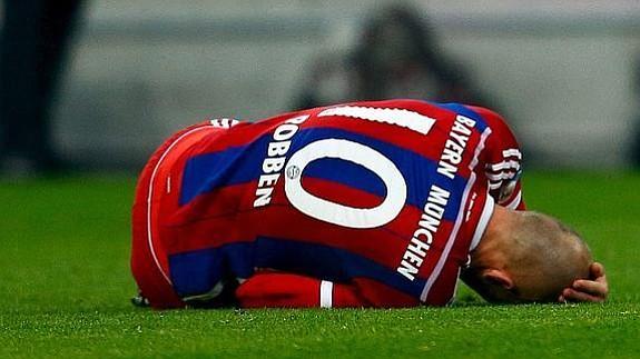Arjen Robben se perderá partido contra España por lesión
