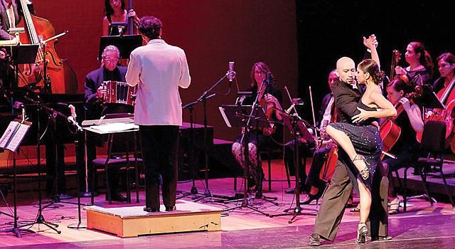 ESPECTÁCULO. Música y baile en el DC Tango Festival de 2013.