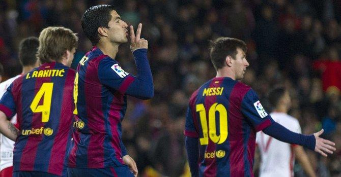"""4-0. El Barça gana sin brillo, pensando en sus """"dos semanas grandes"""""""