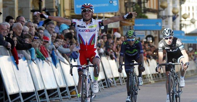 """""""Purito"""" se impone a Henao y Quintana en una etapa espectacular"""