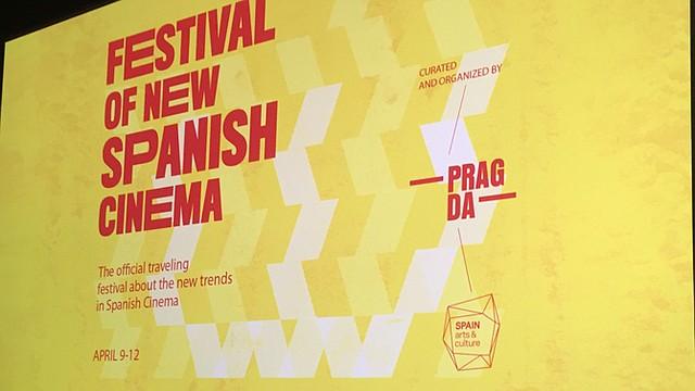 La directora Marta Sánchez, inaugura el Festival of New Spanish Cinema en Silver Spring, MD, el 9 Abril, 2015