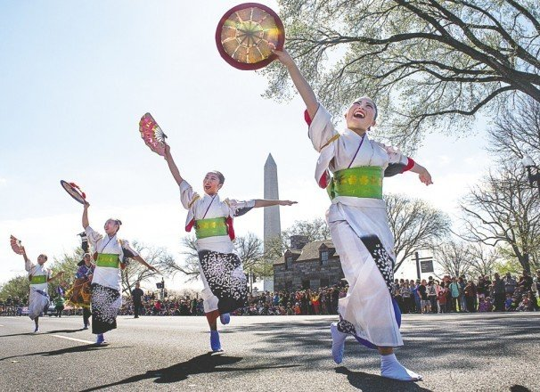 Family fun and friendship blossom at annual D.C. spring fling