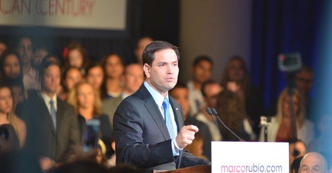 """Rubio se presenta en Miami como el candidato republicano del """"nuevo siglo"""""""
