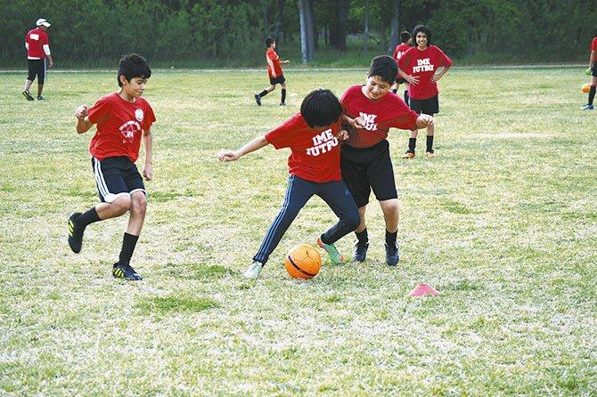 El verano se disfruta con fútbol