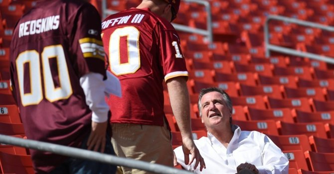 Bruce Allen tells Redskins fans their next stadium will more closely resemble RFK