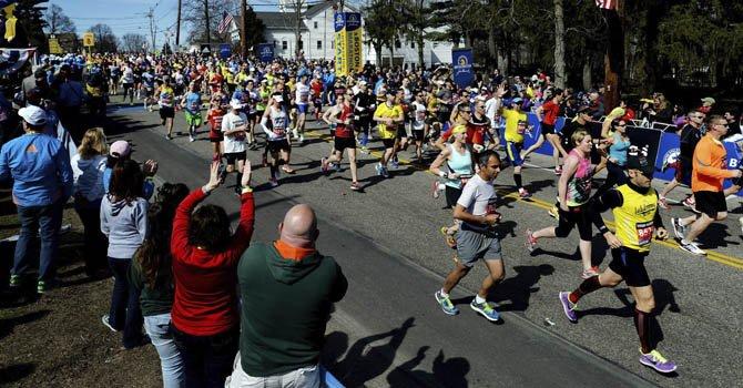 Treinta mil fondistas en la 119 edición del Maratón de Boston