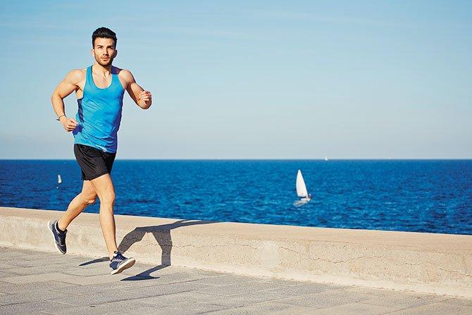 Si corres, no bebas