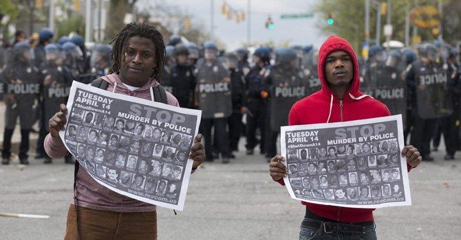 Piden 5.000 agentes más para controlar Baltimore