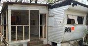 Legal Aid Justice Center advierte que desde que las casas móviles empezaron a ser clausuradas o abandonadas en el parque Rudd's, ya se han registrado actos de vandalismo y robos.