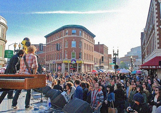 15 MAYO: May Fair en Harvard Square